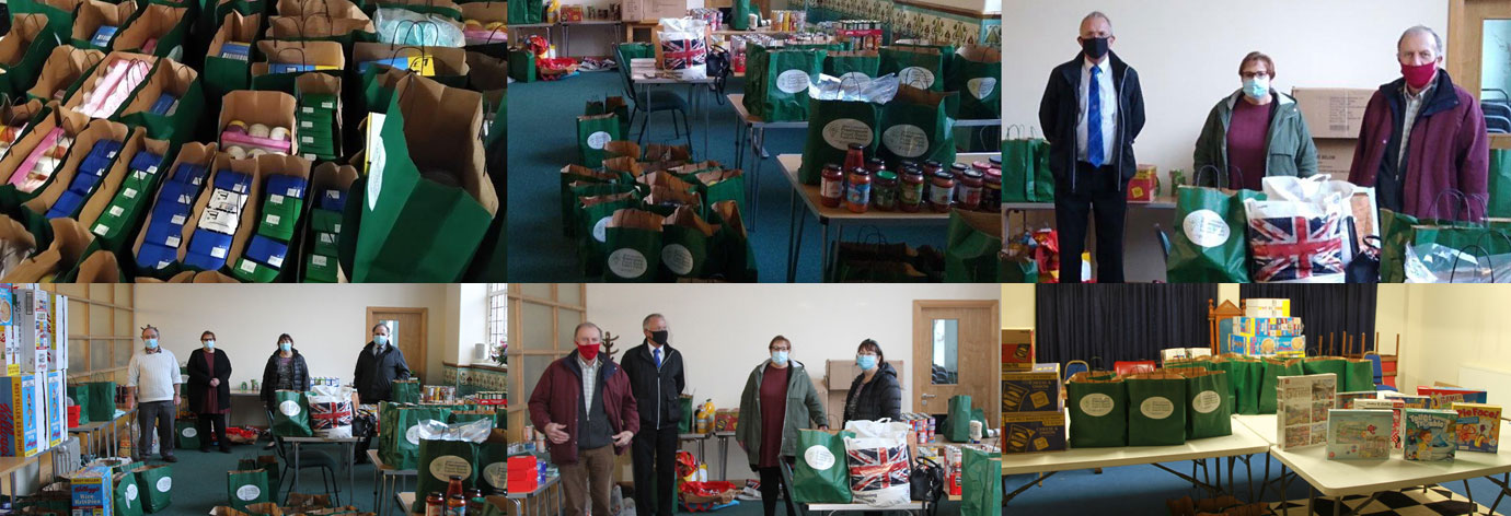 Highlights of the presentation at the Linacre Community Foodbank.