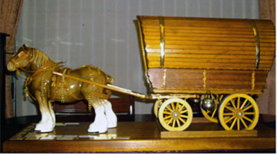 The infamous 'Horse and Cart'.