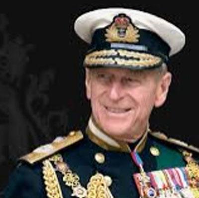 HRH Prince Philip, the Duke of Edinburgh.