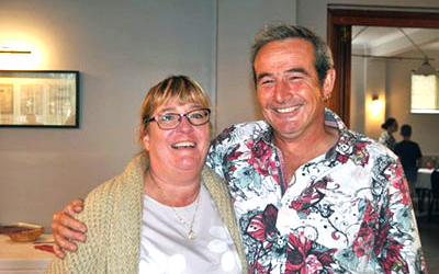 Julie and Andy Baxter.