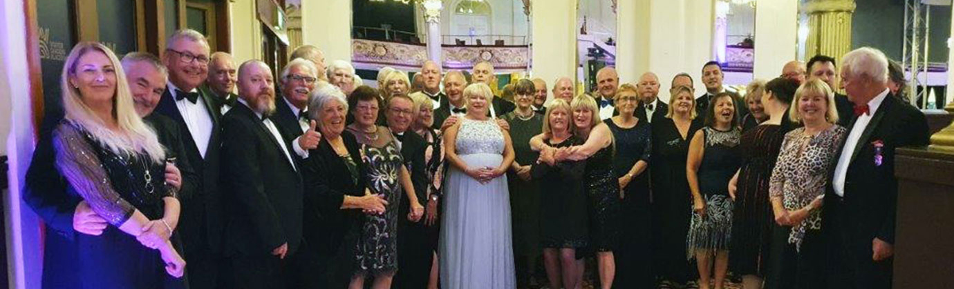 Brethren and their partners step out in style.